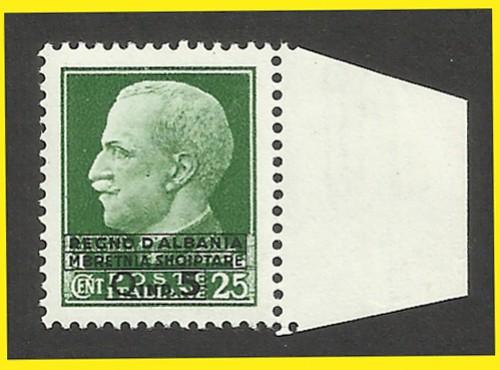 OCCUPAZIONE ITALIANA dell'ALBANIA - La serie filatelica NON EMESSA del 1939.
