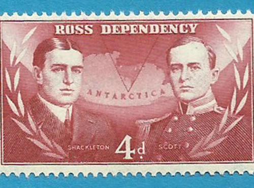 ANTARTIDE – I primi rari francobolli    (parte 1ª).