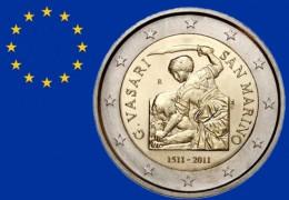 """2 EURO COMMEMORATIVI: PITTORI, SCULTORI e ARCHITETTORI, una collezione """"artistica"""". (PRIMA PARTE 2004-2014)"""
