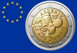 IL PRIMO 2 EURO COMMEMORATIVO dedicato ad un eroe del FUMETTO: ASTERIX