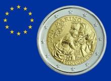 """SAN MARINO 2018 """"500° anniversario della nascita di Tintoretto (Rami d'albero e fiori)."""
