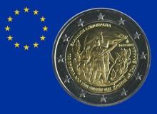 """GRECIA 2013 """"100° anniversario dell'unione di Creta alla Grecia (Rami di alloro)""""."""
