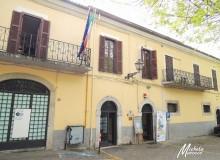 "Entrata del ""Chiostro di San Francesco""."