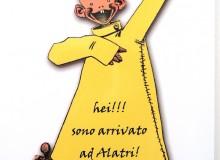 Yellow Kid, ritenuto il primo personaggio del fumetto mondiale.