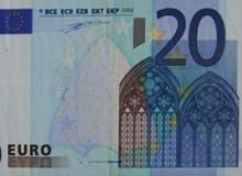 La banconota da 20 euro a firma DUISENBERG.