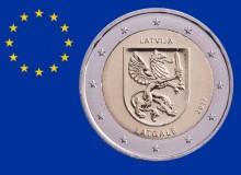 """LETTONIA 2017 """"Regione Latgale (Grifone)"""""""