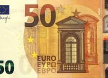 La nuova banconota da 50 euro a firma DRAGHI. Emissione prevista per la primavera 2017.