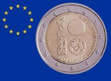 """ESTONIA 2018 """"100° anniversario dell'Indipendenza (Gruppo di colombe stilizzate)"""""""