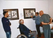 Vincenzo Marocco mostra il passaggio dalla tavola originale alla pagina del fumetto.