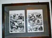 """Le due tavole originali del """"Texone"""" di Pasquale Frisenda - TEX © Sergio Bonelli Editore"""