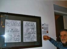 """Vincenzo Marocco illustra le 2 tavole di Zerocalcare -  """"Dodici"""" - © Zerocalcare e Bao Publishing 2013"""