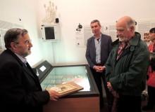 Il cordiale incontro con il disegnatore Sandro Scascitelli.