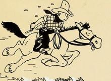 Anche il grande Hergé usava il bianchetto (vedere ciuffi d'erba in basso).