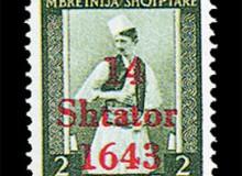 2 q. - Costume tradizionale maschile dell'Albania del sud.