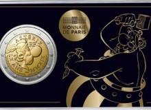 Coincard con moneta e raffigurazione del solo Obelix.