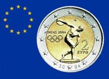 GRECIA 2004 - Olimpiadi di Atene - Il primo 2 € commemorativo coniato.