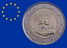 """2015 - BELGIO """"Anno europeo per lo sviluppo"""" è il 2 € commemorativo n. 200 emesso."""