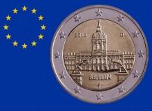 """2018 - GERMANIA """"Berlino"""" è il 2 € commemorativo n. 300 emesso."""
