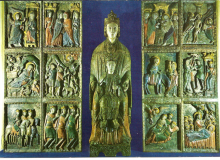 La cartolina con la Madonna di Costantinopoli ....