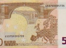 """Banconota """"radar"""" completo, composto solo da 4 numeri."""