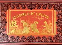 """""""Histoire de Mr. Crepin"""" -  Edizione francese del 1870 ca."""
