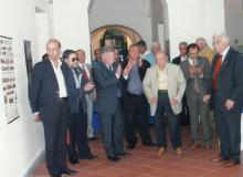 Il Preside Prof. G.B. Mantovani ricorda i valori e gl'ideali europei.