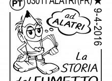 Bozzetto per l'annullo filatelico creato dal prof. Mario Ritarossi.
