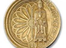 La Madonna di Costantinopoli sulla medaglia d'arte del 1995.