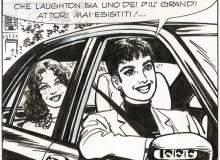 """Ernesto García SEIJAS - """"Julia a Parigi"""", vignetta tratta da tavola originale in Mostra. ©  Sergio Bonelli Editore"""