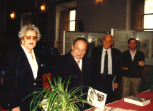 Il Dr. Diena con la N.D. Anna Campanari vedova Molella...