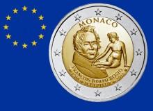 MONACO 2018 - Scultore F.J. Bosio. Appena emessa, naturalmente, la moneta (3b) occupa la 5ª posizione.