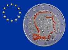 """OLANDA 2013 - 2 euro commemorativo """"200° anniversario del Regno""""."""