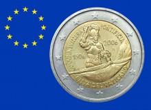 VATICANO 2006 - 500° anniv. della Guardia svizzera. Moneta 5ª in graduatoria.